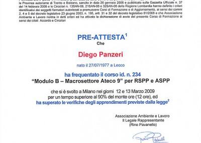 RSPP ATECO 9